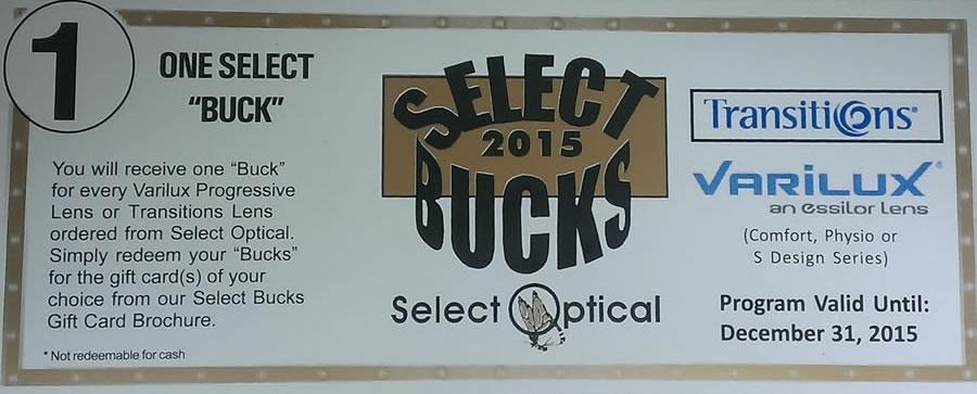 Select Bucks