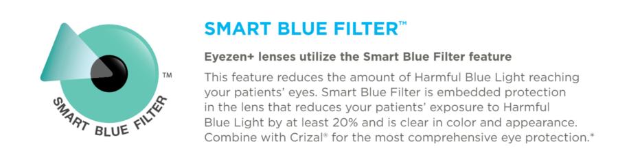 blue filter info